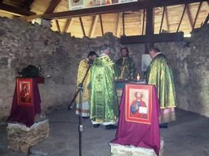 Arhijerejska liturgija u svetištu svetog Ilije