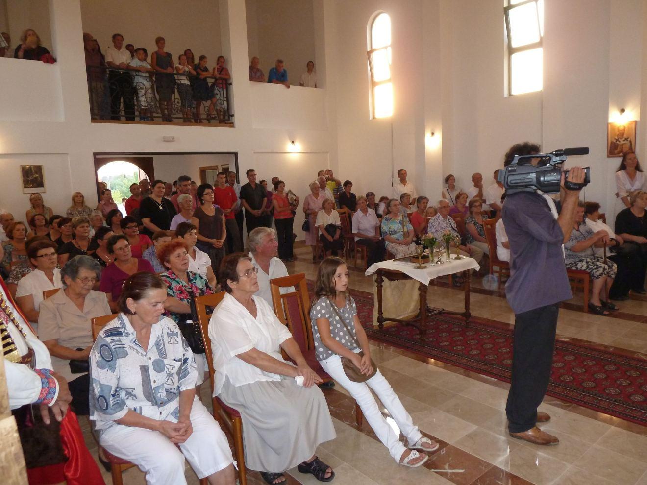 Nastup grkokatoličkog kora iz istočne Slovačke u Jastrebarskom