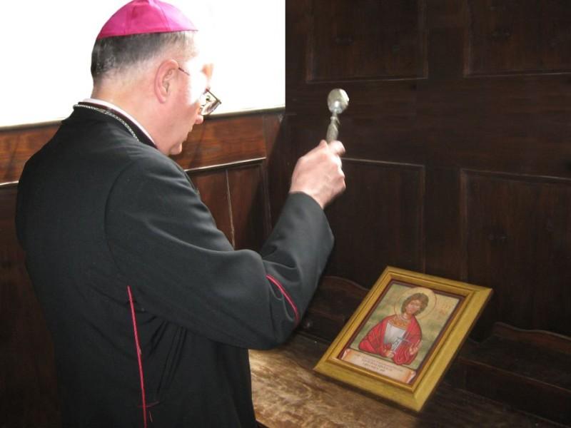 Jubilarna ikona sv. Trifuna  izrađena na drvetu starom preko 2000 godina