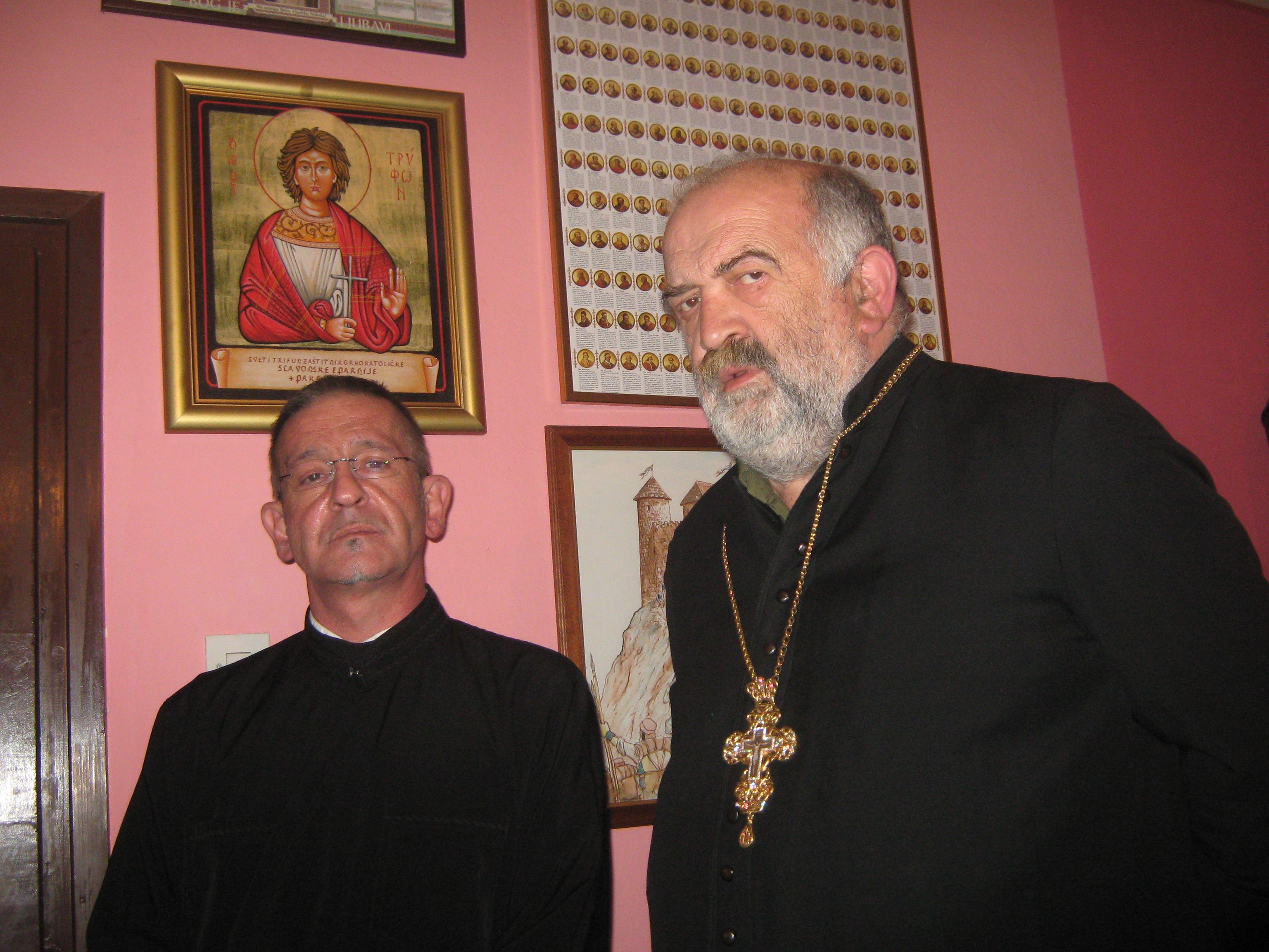 Eparhijski kancelar posjetio vikara