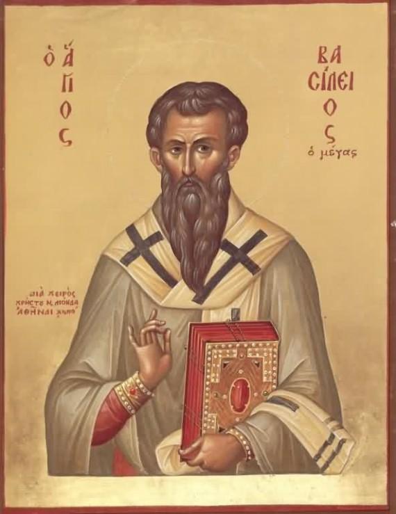Sveti Vasilije  – Pčelo Crkve Kristove, moli Boga za nas!