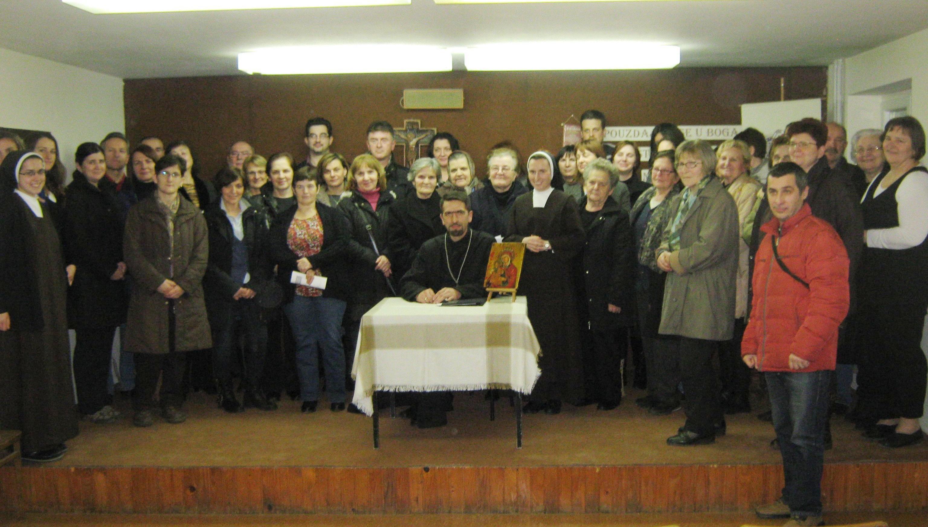 Predavanje u karmelićanskom samostanu u Hrvatskom Leskovcu