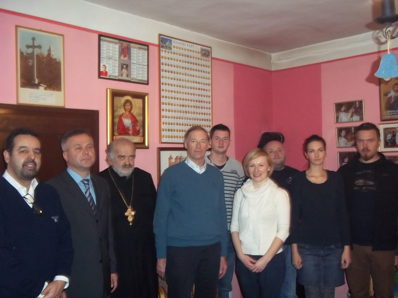 Prijem Europske delegacije u sjedištu Vikarijata