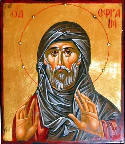 Molitva sv. Efrema Sirijca u vrijeme Velikog posta