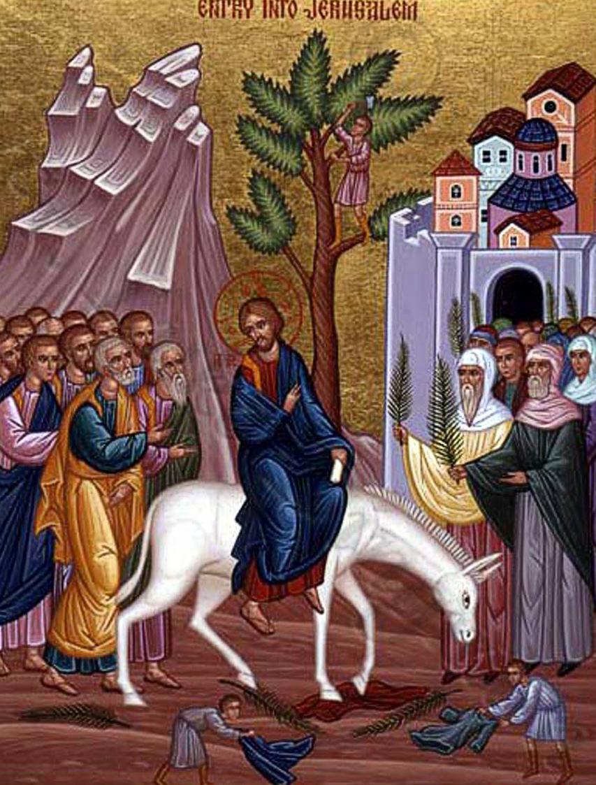 ULAZAK U JERUZALEM GOSPODA I SPASA NAŠEGA ISUSA KRISTA (CVJETNICA)