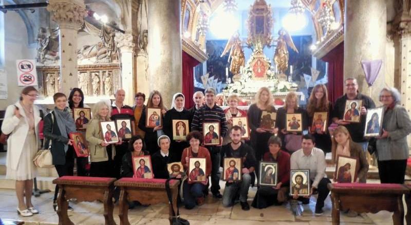 Ugledni ikonopisac gospodin Josip Ružić održao tečaj u Dalmaciji