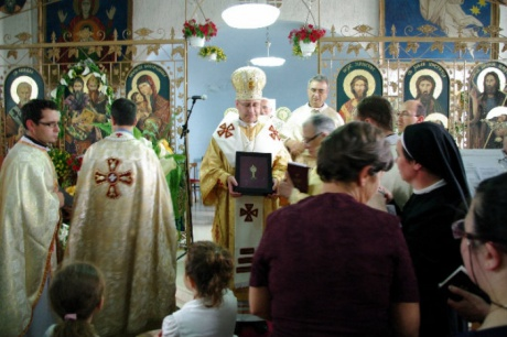 Apostolski egzarhat u Makedoniji osnovan za pet župa