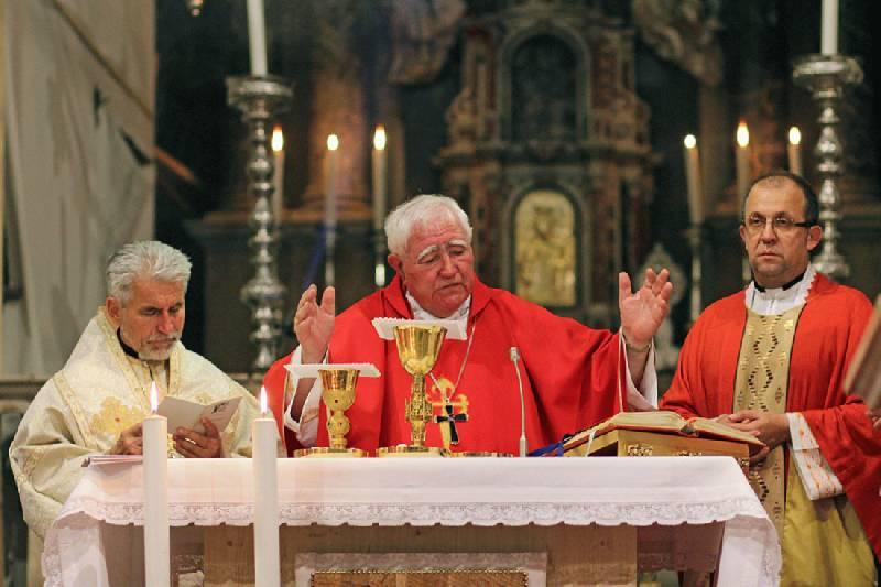 Grkokatolički vladika Milan na proslavi sv. Jakova u Šibeniku