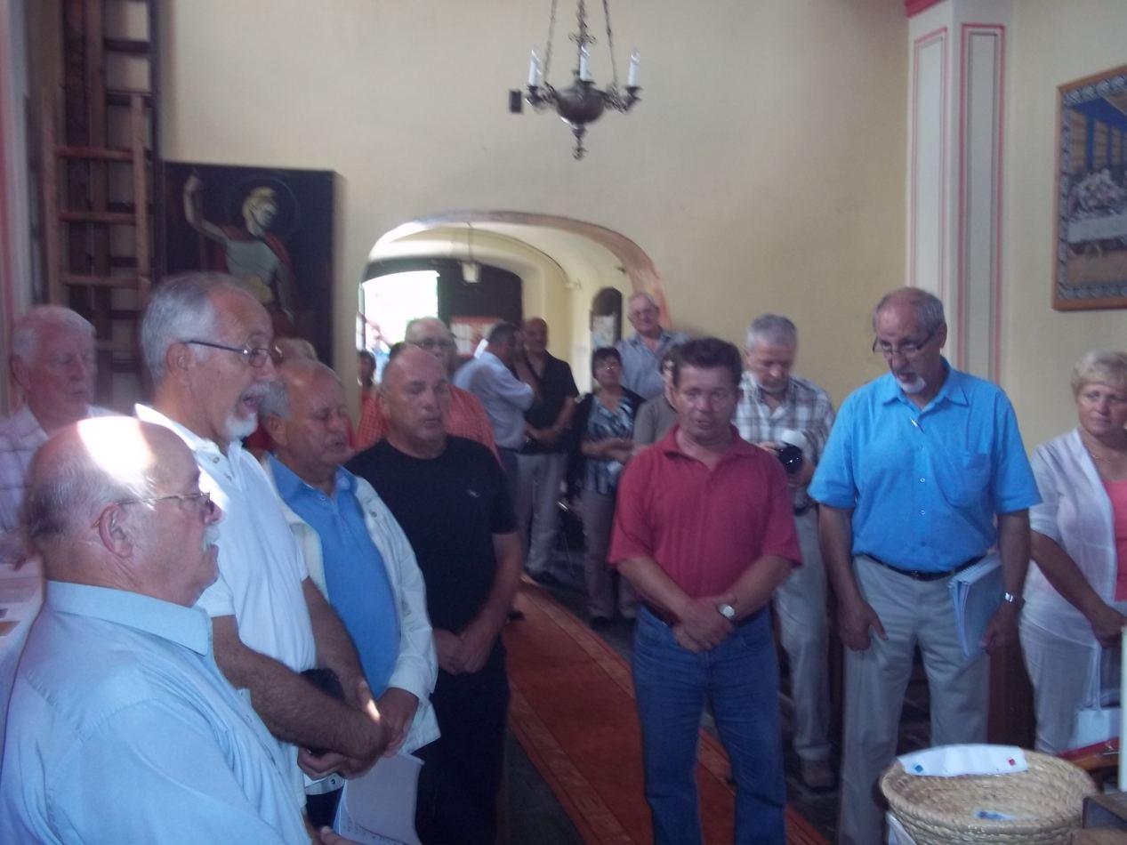 Nekadašnji salezijanski sjemeništarci iz Slovenije u posjetu našem Vikarijatu