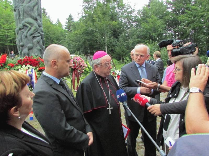 Jadovno: Izjava biskupa Mile Bogovića