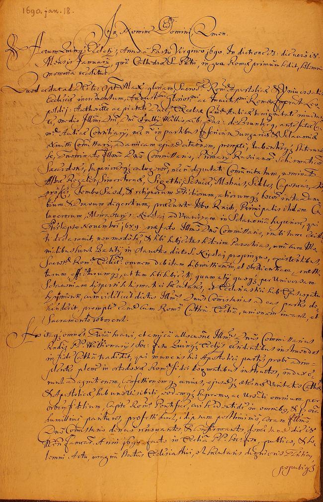 U mađarskom Arhivu pronađen dokument neprocjenjive povijesne važnosti za grkokatoličku Slavonsku eparhiju