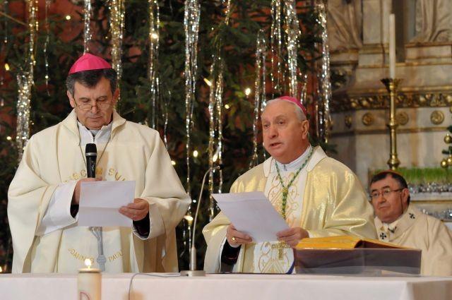 Propovijed nuncija u BiH mons. Pezzuta na Svjetski dan mira