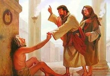 U ime Isusa Krista Nazarećanina hodaj!