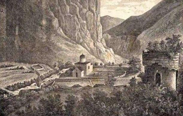 Grkokatolički marčanski vladika Isaija Popović vizitira selo Sriječak kod Donjeg Lapca godine 1693.