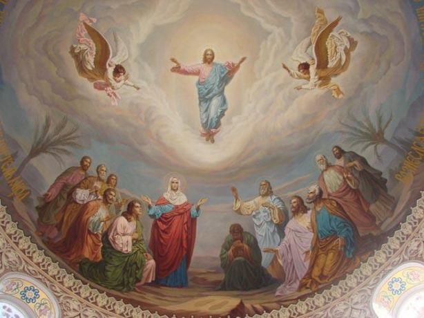 Uzašašće Gospodina Isusa Krista – Spasovo