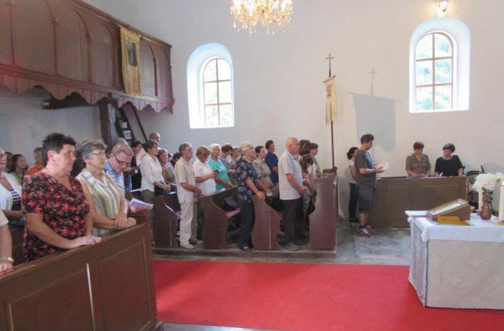 Nova vrata i prozori na pećanskoj crkvi