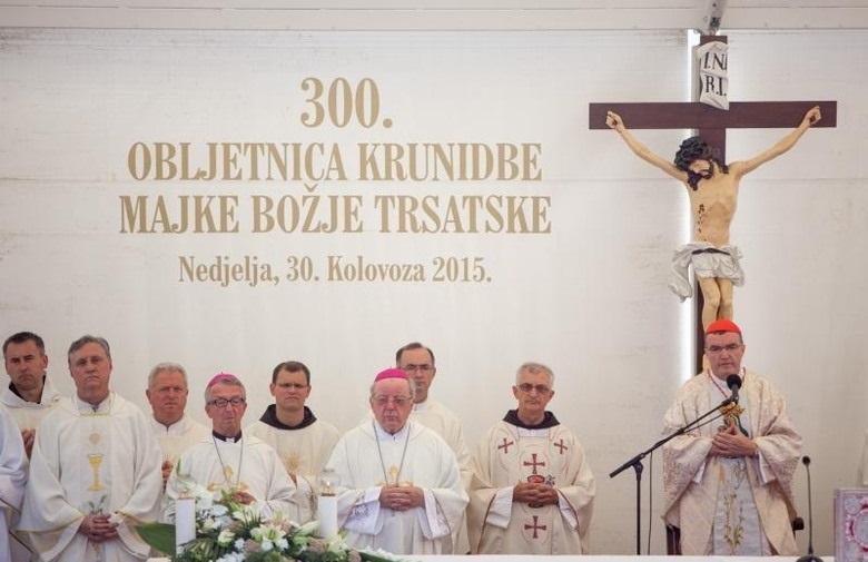 Propovijed našeg metropolita uzoritog kardinala Josipa na Trsatu
