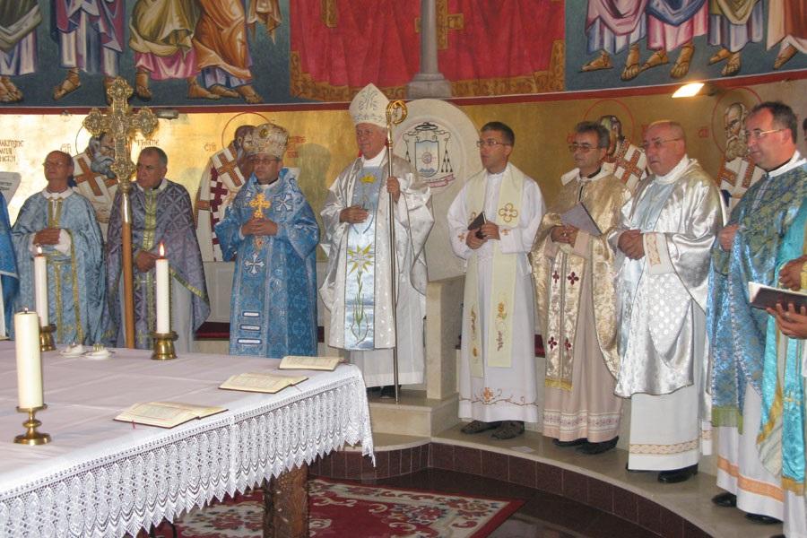 U Makedoniji na grkokatoličkim slavljima redovito sudjeluju biskupi i svećenici latinskog obreda