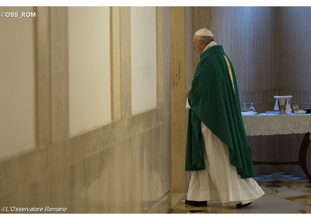 Papa: Pazimo se tvrdog srca koje ne dopušta ulazak Božjeg milosrđa