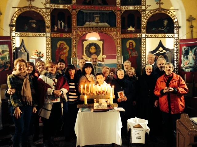 Hodočasnici koji su posjetili Svetu Zemlju na zahvalnoj liturgiji u Grabru