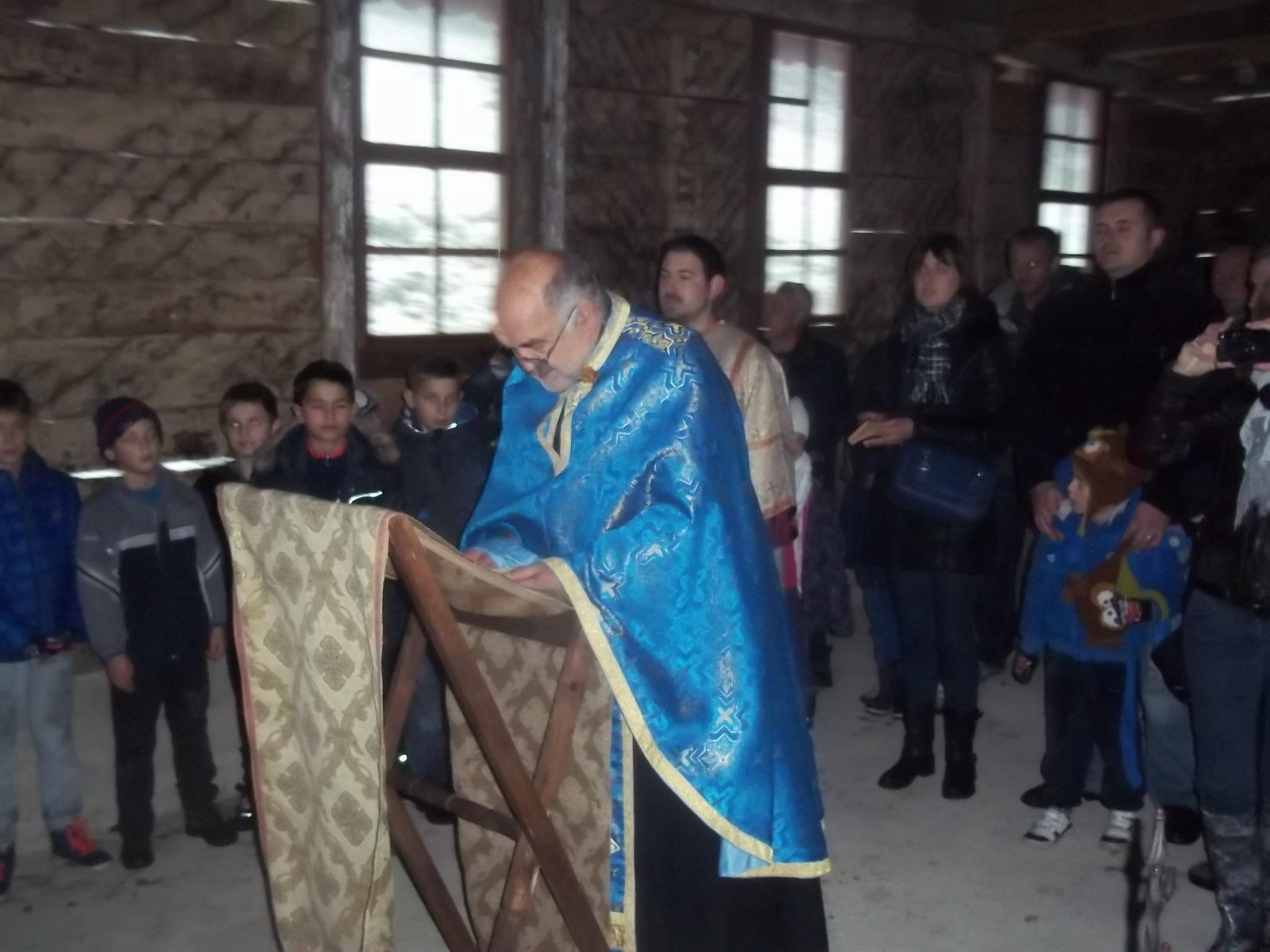 U Koretićima molitveno obilježen blagdan Vovedenija