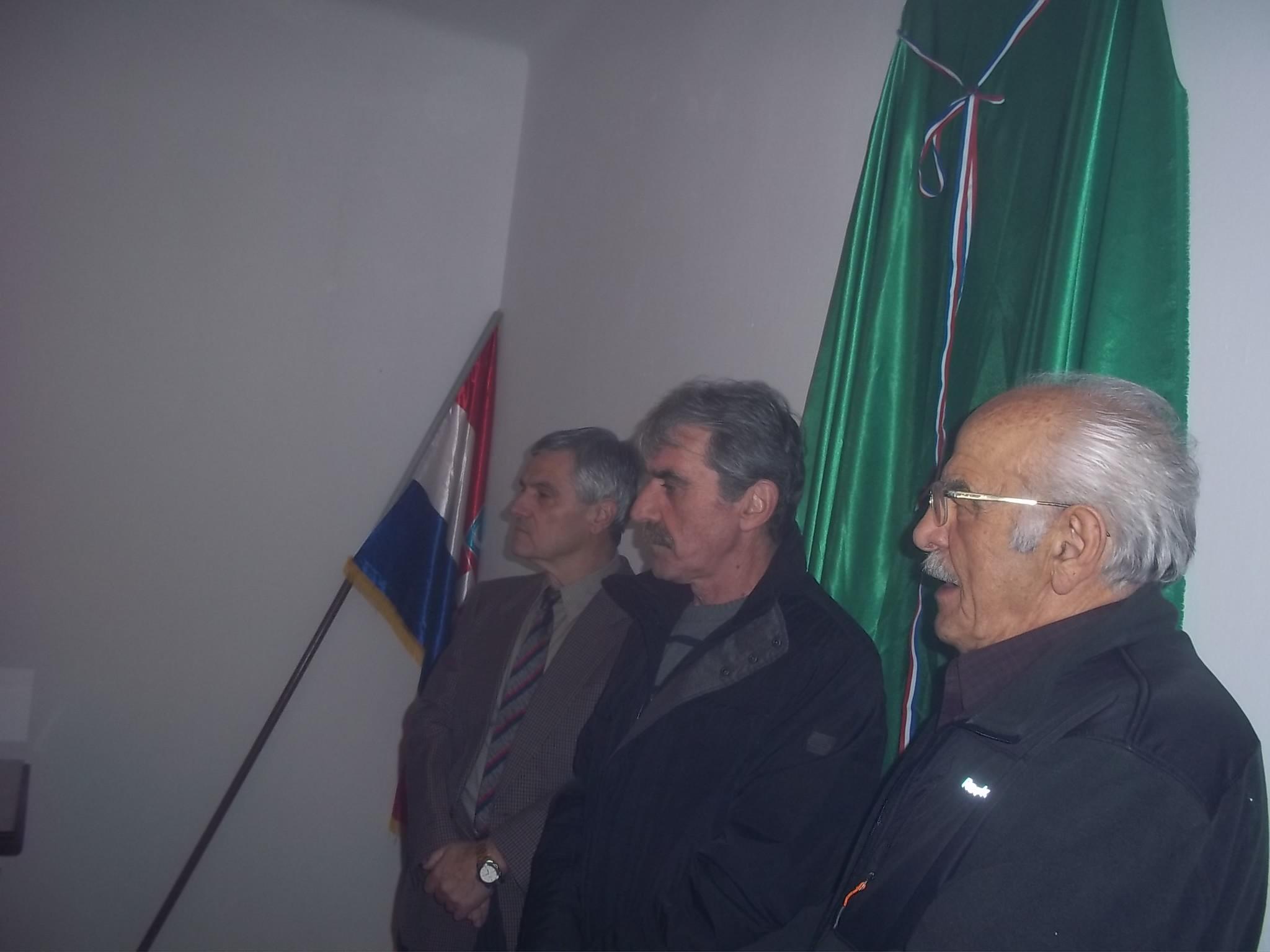 Blagoslovljene prostorije Udruge Žumberčana branitelja Domovinskog rata