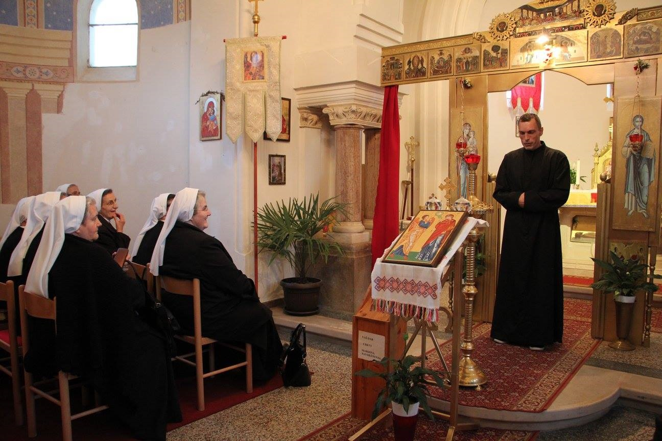 Časne sestre iz Lužnice posjetile Pribić