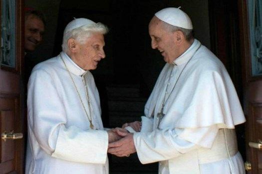 Dvojica papa na otvaranju Svetih vrata Vatikanske bazilike i Godine milosrđa