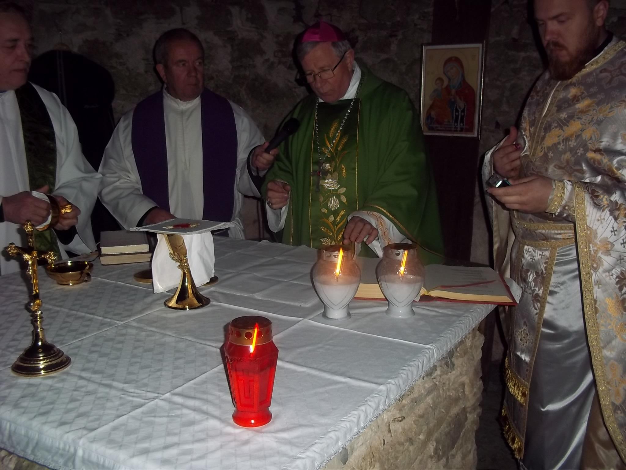 Biskup služio u Žumberku