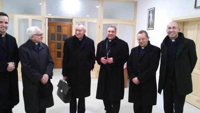 Vladika Kiro u Skoplju dočekao državnog tajnika Svete Stolice kardinala Pietra Parolina
