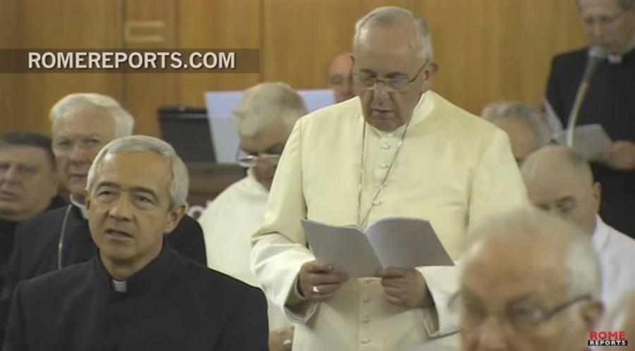 Duhovne vježbe za Papu i Rimsku kuriju: U navještaju Crkve treba blistati Božje lice