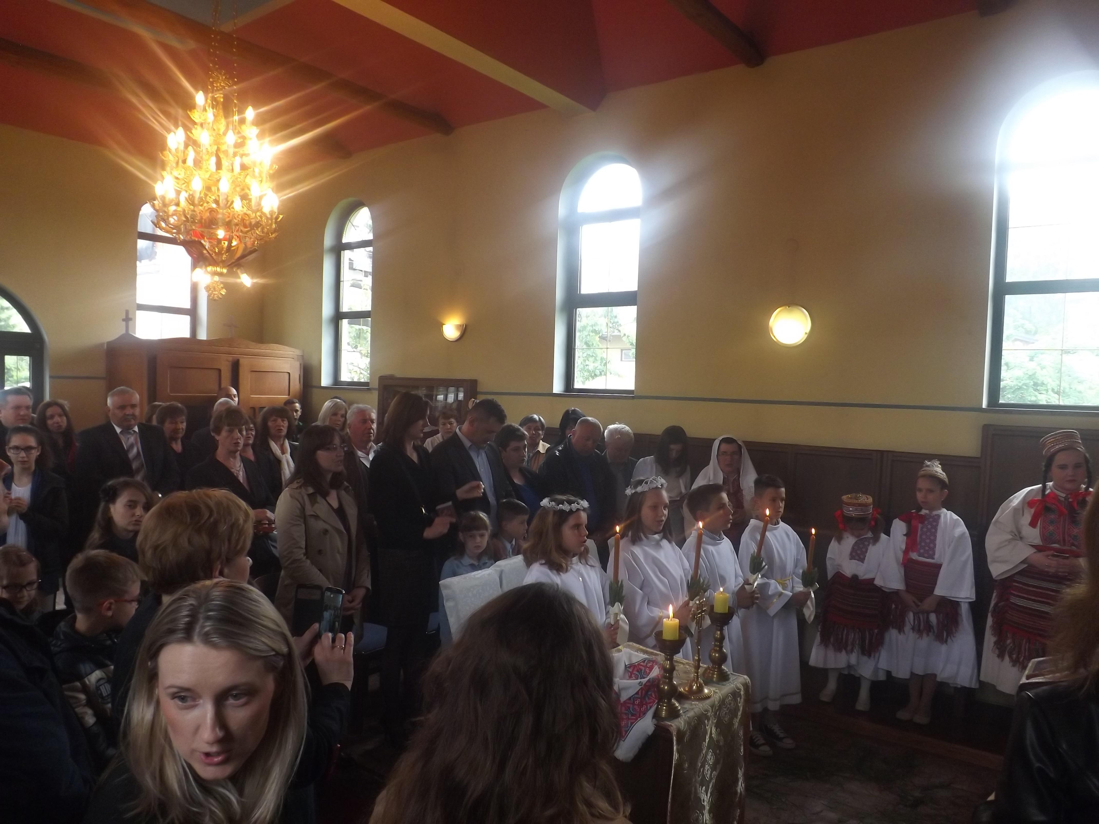 Na blagdan Pedesetnice velika duhovna radost u Samoboru
