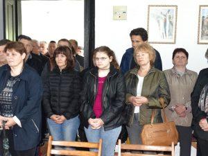 Vjernici na blagdan Duhova u crkvi u Danculovicima