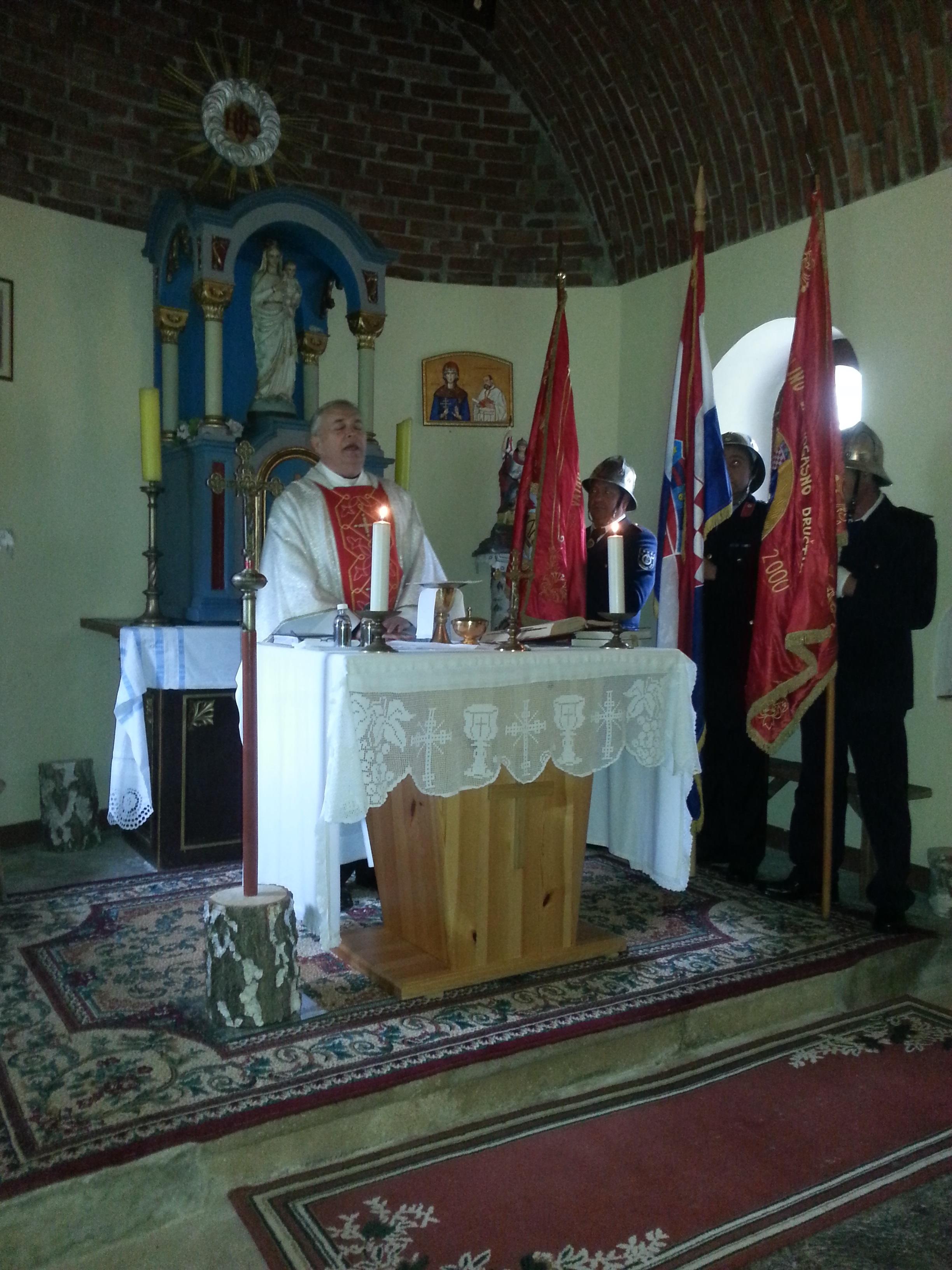 Proslava sv. Florijana, zaštitnika vatrogasaca na Budinjaku