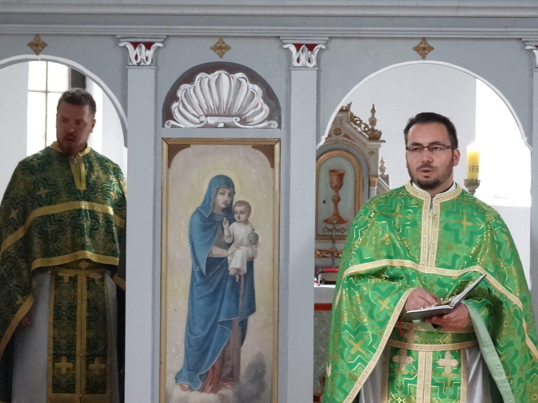 Liturgijom obilježen blagdan Duhova u Dančulovićima