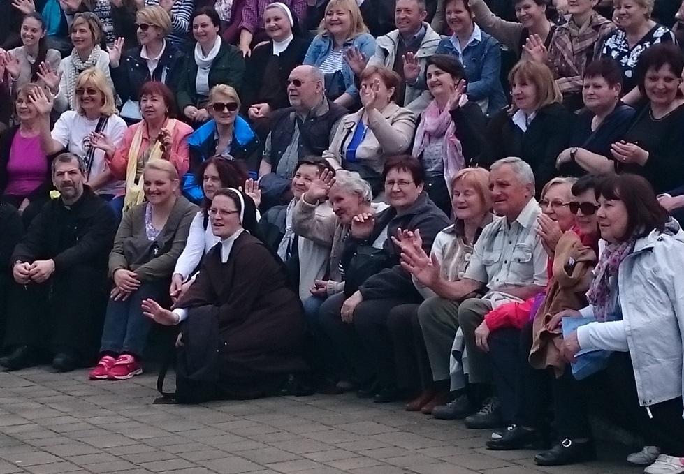 Žumberčanke iz Samobora hodočastile u Poljsku na grob sv. Faustine Kowalske