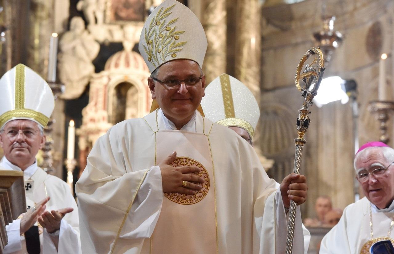 Novom šibenskom biskupu Tomislavu podari Gospode mnoga i blaga ljeta
