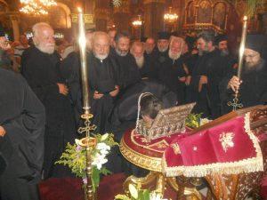 Biskupi i svecenici u Grckoj iskazuju posebno stovanje mociju sv Marije Magdalene