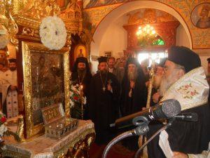 Grcki episkopi ispred mociju sv Marije Magdalene