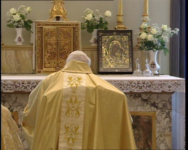 Pravoslavna ikona pred kojom se molio papa Ivan Pavao II.