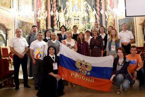 Mladi Rusi rimokatolici na susretu mladih u Poljskoj 2016