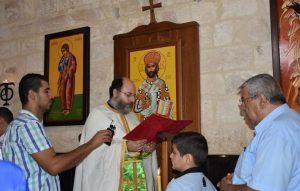 Specificno navjectanje Evandelja u dijelu bizantskog obreda