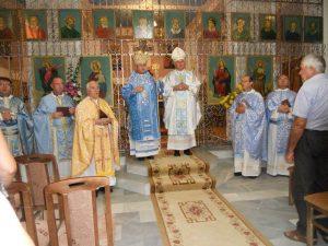 Bisup Uzninic sa makedonskim grkokatolicima