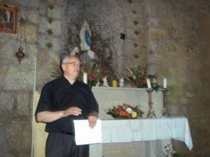 Mons Jerneic u Novom Lurdu kod sentjerneja