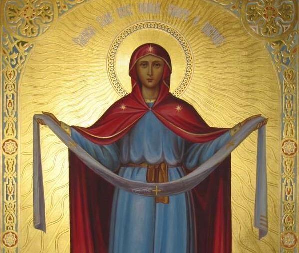 Tog je dana 911. godine Bogorodica bila u crkvi u Carigradu