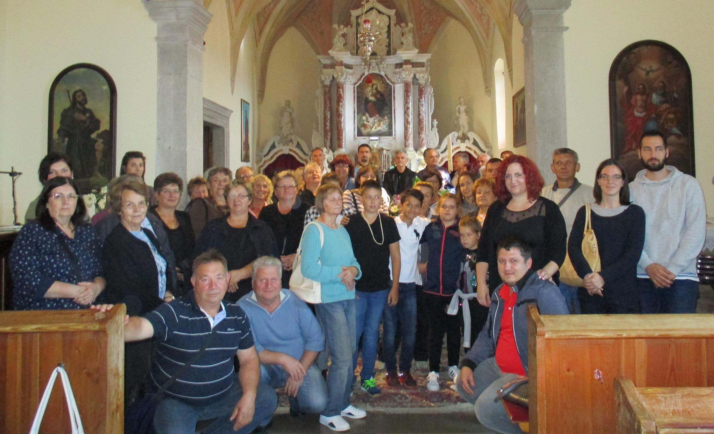 Hrvatska grkokatolička liturgija u talijanskom svetištu Monrupino kod Trsta