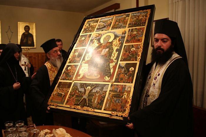 Jedinstvena ikona sa moćima sv. Andrije Prvozvanog apostola