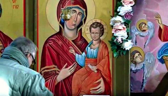 Zamirotočila ikona Presvete Bogorodice