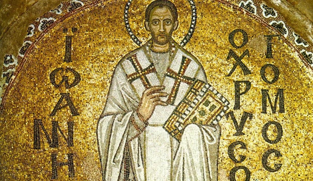 Prijenos moći sv. Ivana Zlatoustog