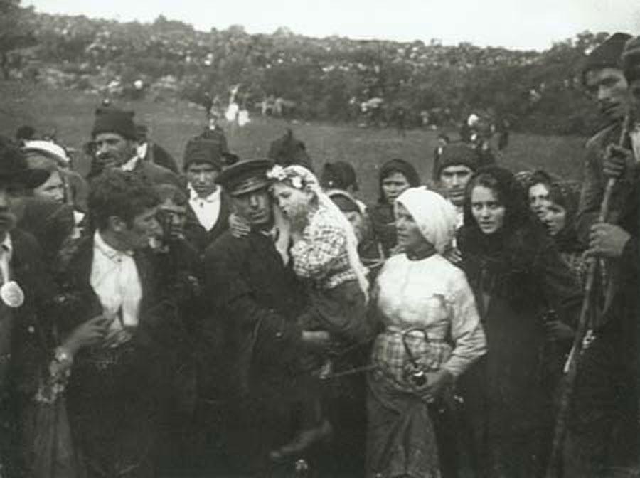 Pogledajte lice djevojčice neposredno nakon što je ugledala Bogorodicu